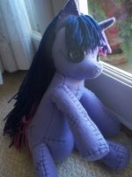 Creepy Twilight Sparkle Rag Doll by charletothemagne