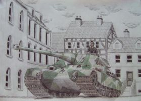 Tank in Town by maddendd