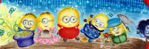 The minion talent show! by LinasWorkshop