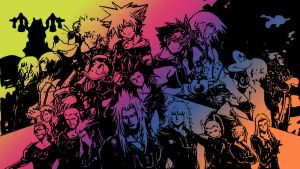 Kingdom Hearts Characters by TheGoldenKeyblade
