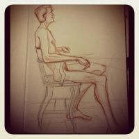 Random Life drawing action by teflonmonkey