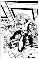 Shadowcat Inked... by TV-TonyVargas