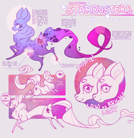 Introducing STARDUSTERS :: info sheet by Sapphu-Adopts