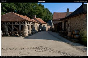 Medieval village 1 by Wess4u