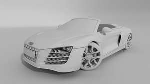 Audi R8 Spyder by Graphic-64