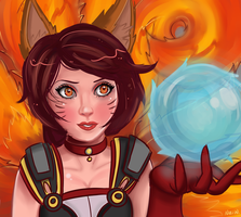 Foxfire Ahri~ by pikabang
