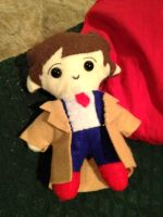 DW - 10th Doctor Plush by Eli-Cosplay