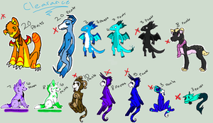 Clearance Adopts CLOSED by Fluffbutt-Adopts