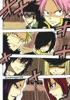 Sabertooth VS Fairy Tail - Chapter 292 by BlueShinigami98