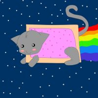 NYAN NYAN NYAN NYAN by ArcSpectrum