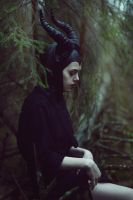 young Maleficent by ShadowNek