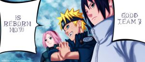 Naruto 631 : Team 7 is back!! by OneBill