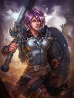 Smite Bellona's face Rework - Rework de Belona by karulox
