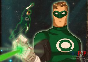 Hal Jordan by DESPOP