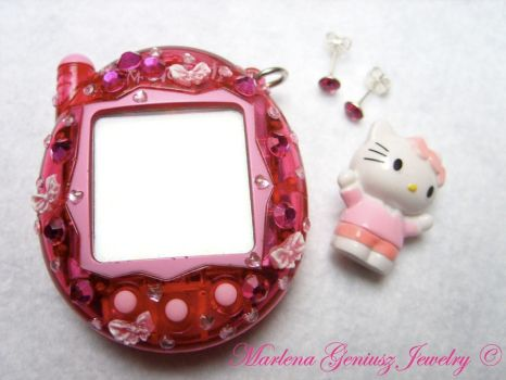 SUPER CUTE DECO TAMAGOTCHI by kickthebucket