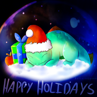 Happy Holidays from Hypra! by QueenOfIllusion