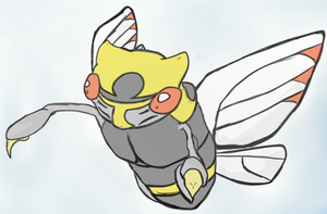 Float Like a Butterfree by Alygator711