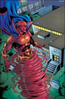 Red Tornado 01 - 01 by matlopes