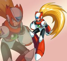 Megaman Zero - Wallpaper by Scarlet-Hair