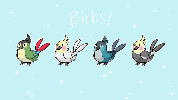 dank birbs by JaidenAnimations