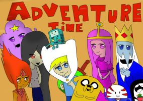 Adventure time! by Det2x
