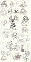 Thorin sketches by Norloth