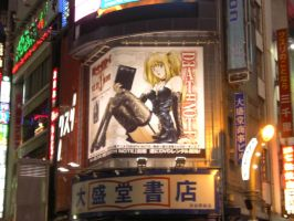 Death Note in Shibuya by jackelares