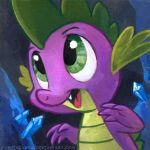 Square Series - Spike by sophiecabra