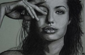 Angelina Jolie by whoisangie