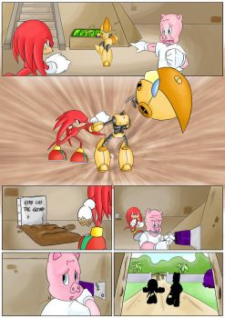 Knuckles: Skeletons in the Closet (Part 3: Page 5) by shamethedawg