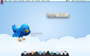 Twitter Desktop by luisperu9