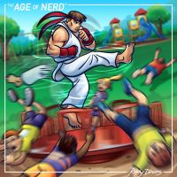 The Age of Nerd - Ryu vs. Merry-Go-Round by RockyDavies