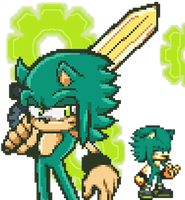 Teorios the Hedgehog by PixelPower23