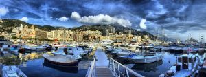 Monaco Harbor HDR by DS1985