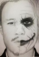 Heath Ledger / The Joker by LisaSensless