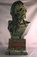 Wrightson Frankenstein Bust Finished! by Blairsculpture
