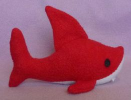 Shark Plush 1 by AmberTDD
