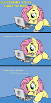 Fluttershy Visits... by Ovni-the-UFO