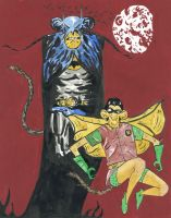 Batchimp and The Ape Wonder by theghostboat