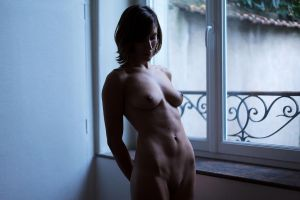 Window Nude by Who-Is-Chill