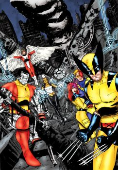 X-Men Samplecover - Sedat and me by pascal-verhoef