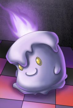 Litwick by WorrySeed