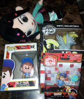 Sell Vanellope Fix it Felix and Derpy by SEGAMew-Market