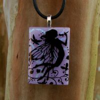 Fairy Queen Fused Glass by FusedElegance
