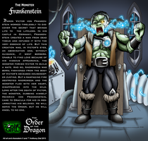 Order of the Dragon 02- The Monster: Frankenstein by Gummibearboy