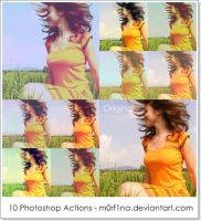 10 PS Actions by M0rf1na