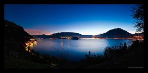 Lake of Como 1 by FrozenWhisperx