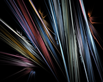 Fractal Abstract Multi Colored Stripes by HellishChaotic