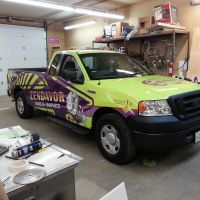 New Truck Wrap by signcrafter