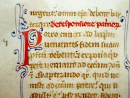 13th Century Manuscript 02 by barefootliam-stock